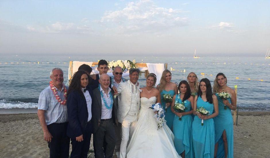 Le mariage de Giovanni   et Sylveline  à Sainte-Maxime, Var