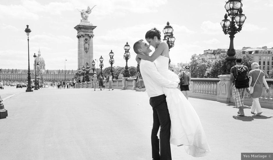 Le mariage de Julien et Laureane à Argenteuil, Val-d'Oise