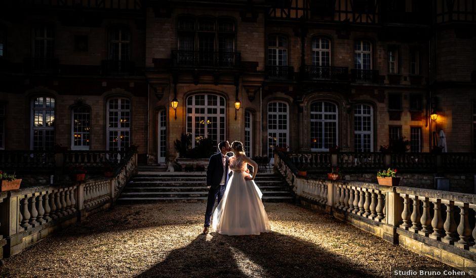 Le mariage de Romain et Elodie à Champs-Sur-Marne, Seine-et-Marne