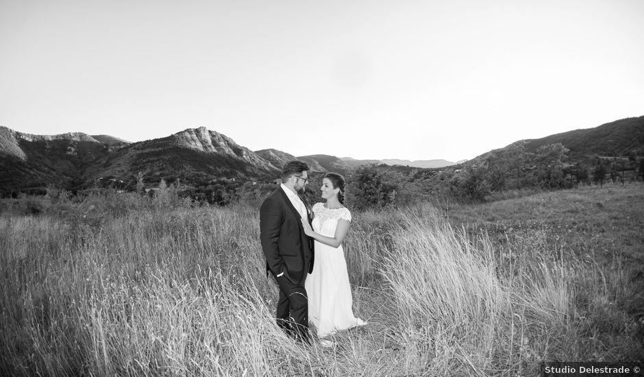 Le mariage de Alexandre et Marie à Saint-Julien-en-Saint-Alban, Ardèche