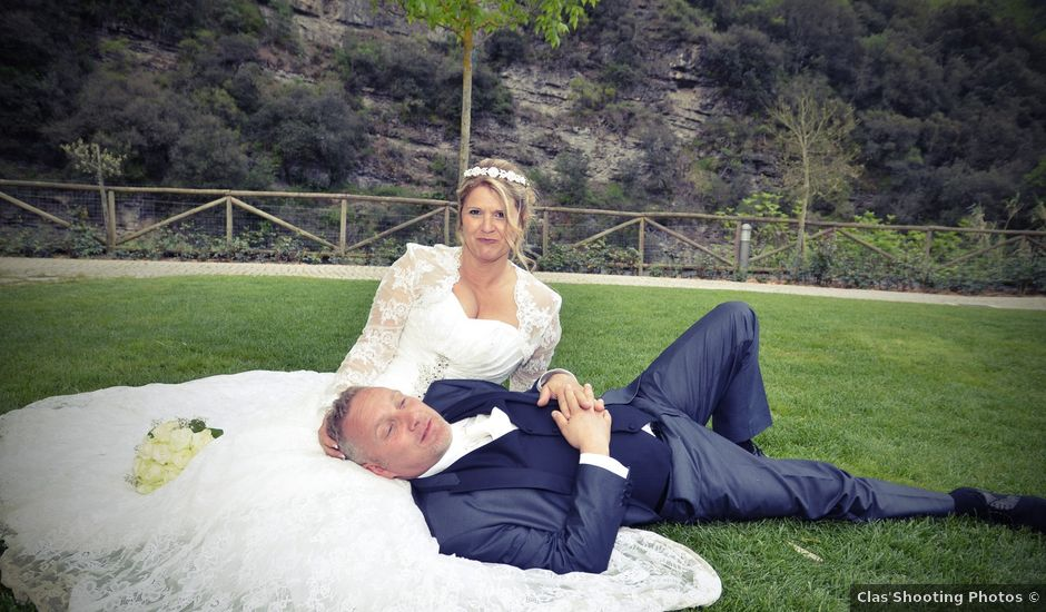Le mariage de Wilfrid et Virginie à La Trinité, Alpes-Maritimes