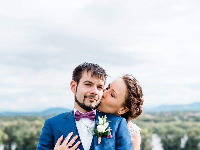 Le mariage de Emmanuel et Laure à Viviers, Ardèche 14