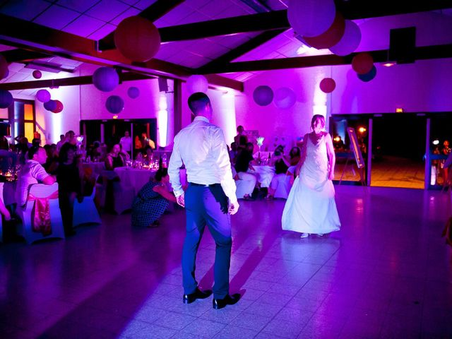 Le mariage de Damien et Geraldine à Ligugé, Vienne 33