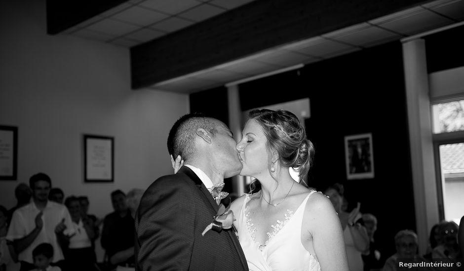 Le mariage de Damien et Geraldine à Ligugé, Vienne