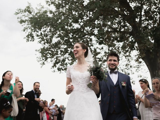 Le mariage de Raphaël et Camille à Eyrans, Gironde 43