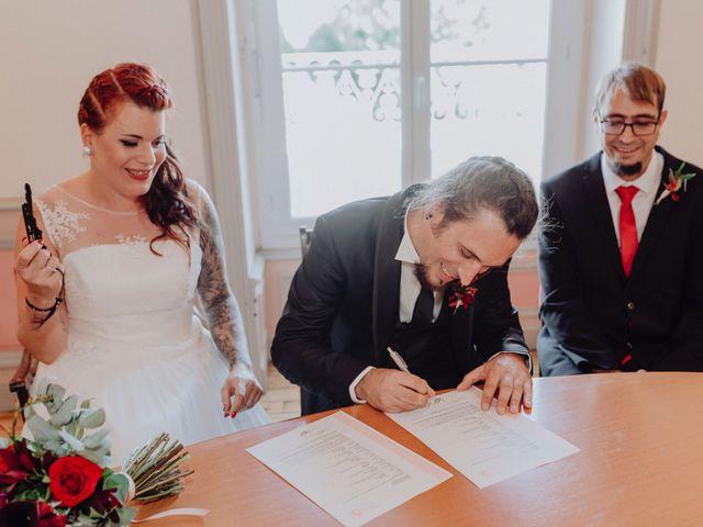Le mariage de Christophe et Anthéa à Saint-Martin-la-Plaine, Loire 27