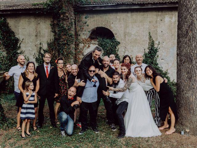 Le mariage de Christophe et Anthéa à Saint-Martin-la-Plaine, Loire 63