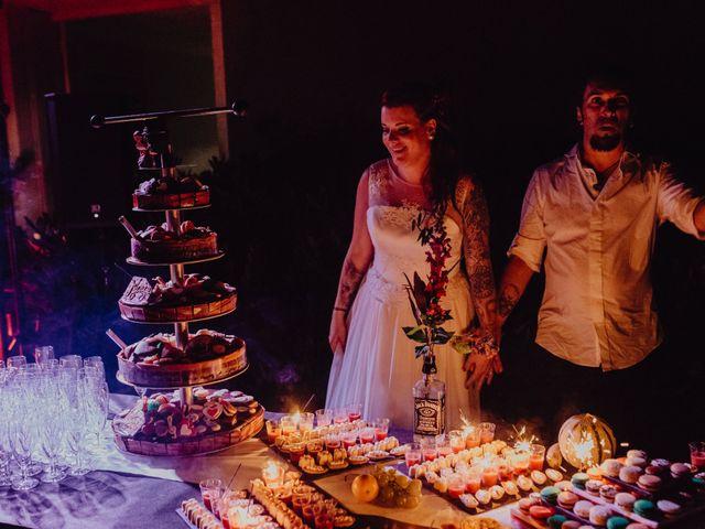 Le mariage de Christophe et Anthéa à Saint-Martin-la-Plaine, Loire 91