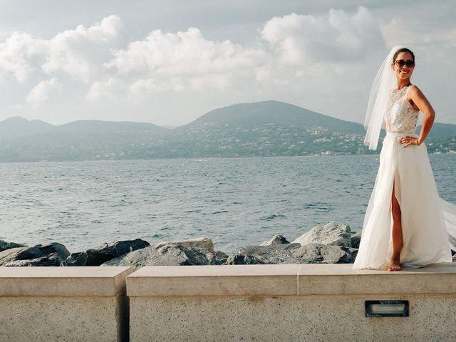 Le mariage de Chrystelle et Nicolas à Saint-Tropez, Var 67