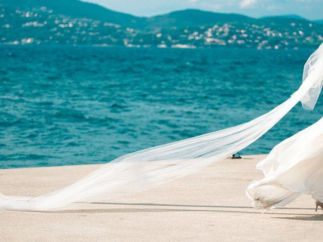 Le mariage de Chrystelle et Nicolas à Saint-Tropez, Var 75
