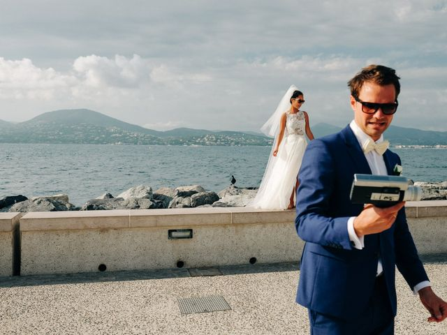 Le mariage de Chrystelle et Nicolas à Saint-Tropez, Var 83