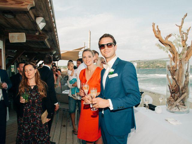 Le mariage de Chrystelle et Nicolas à Saint-Tropez, Var 90