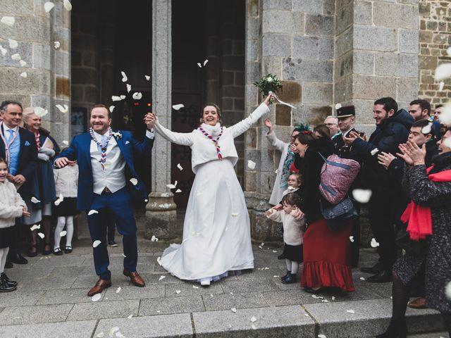 Le mariage de Samuel et Sixtine à Saint-Ouen-la-Rouërie, Ille et Vilaine 13