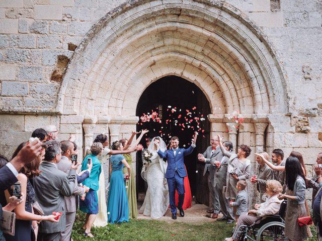 Le mariage de Arpad et Aurore à Biras, Dordogne 1