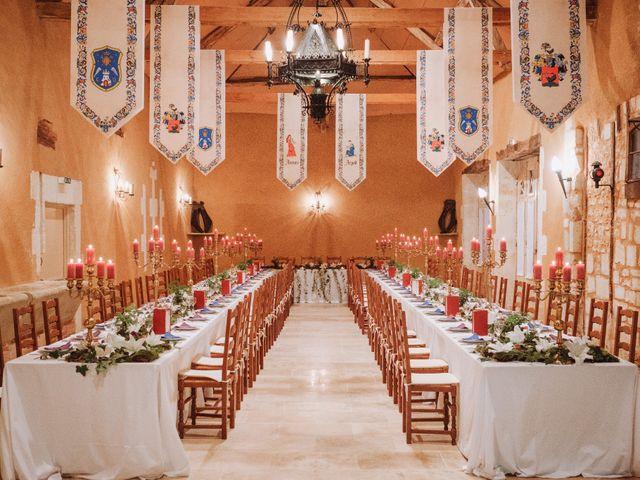 Le mariage de Arpad et Aurore à Biras, Dordogne 16