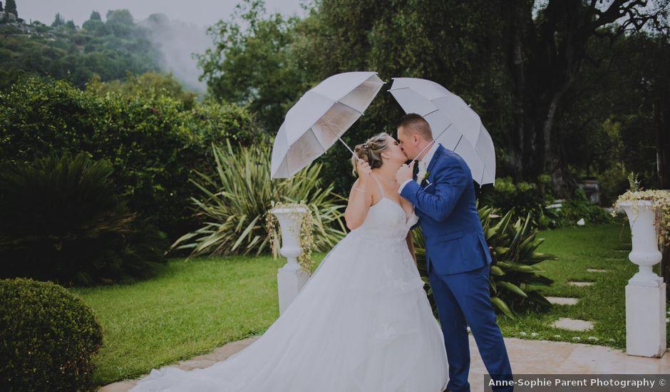 Le mariage de Mathieu et Wendy à Nice, Alpes-Maritimes