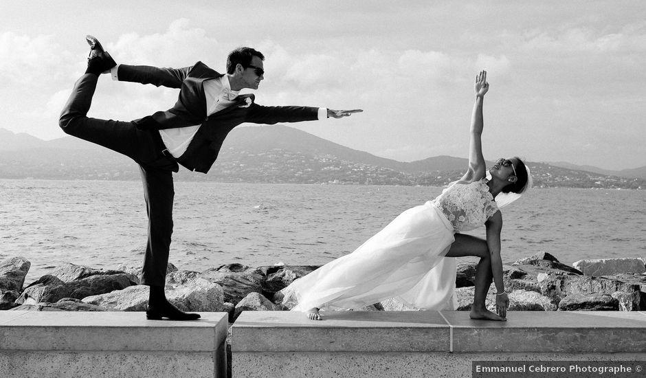 Le mariage de Chrystelle et Nicolas à Saint-Tropez, Var
