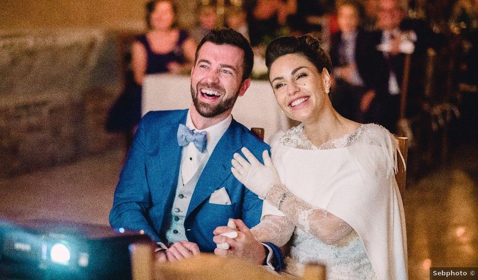 Le mariage de Arpad et Aurore à Biras, Dordogne