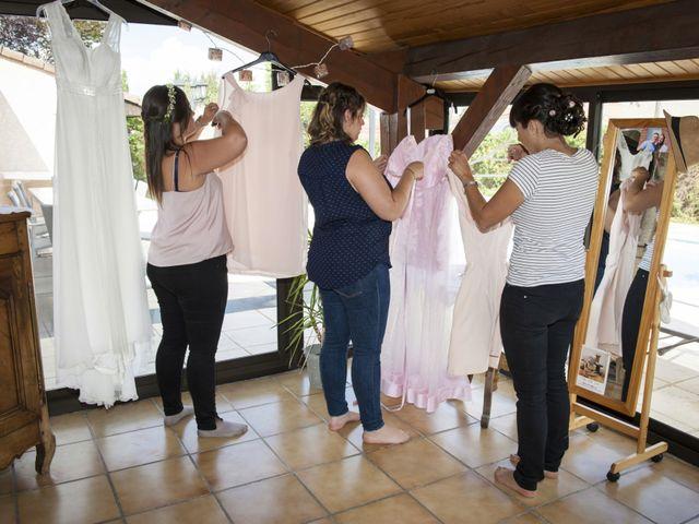 Le mariage de Rémi et Mélanie à Fareins, Ain 6