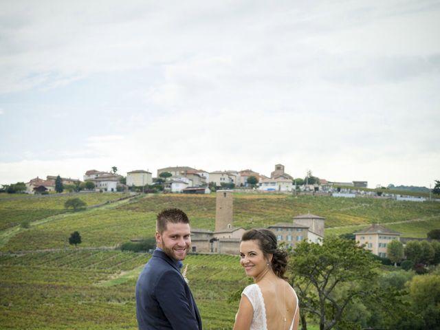 Le mariage de Rémi et Mélanie à Fareins, Ain 33