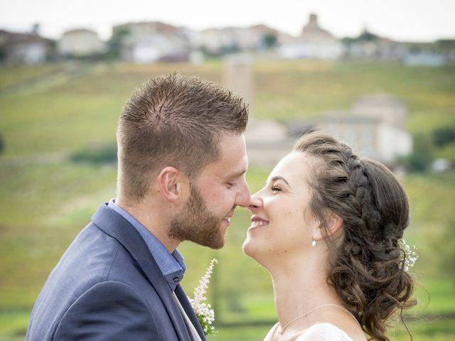 Le mariage de Rémi et Mélanie à Fareins, Ain 34