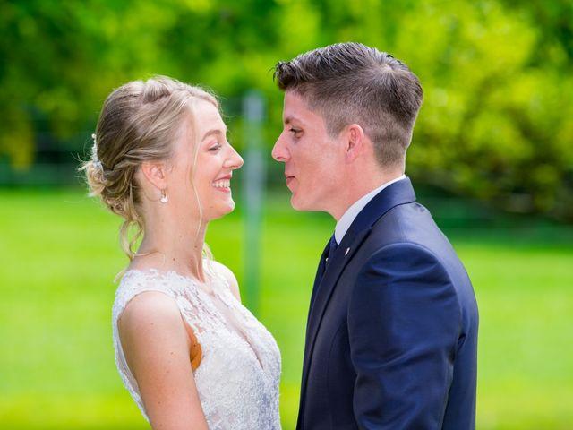 Le mariage de Ray et Cindy à Bâgé-la-Ville, Ain 5