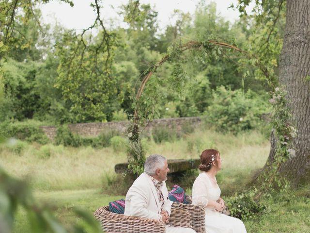 Le mariage de Jean-François et Anne-Marie à Chaussy, Val-d'Oise 3