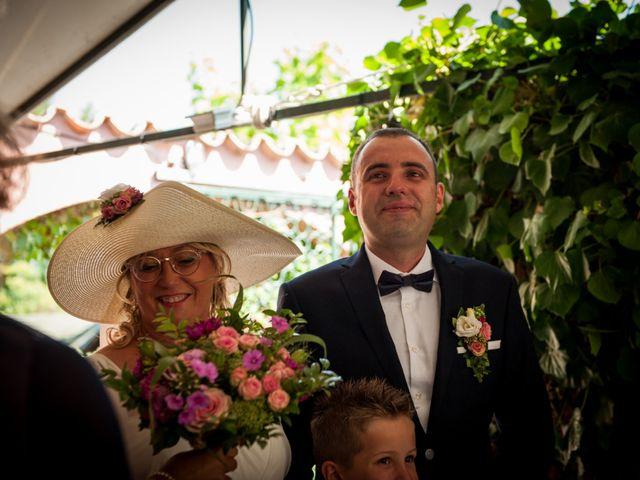 Le mariage de Hervé et Corinne à Labeaume, Ardèche 34
