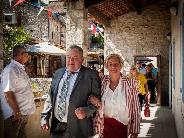 Le mariage de Hervé et Corinne à Labeaume, Ardèche 39