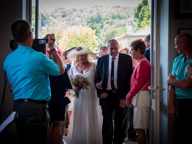Le mariage de Hervé et Corinne à Labeaume, Ardèche 41