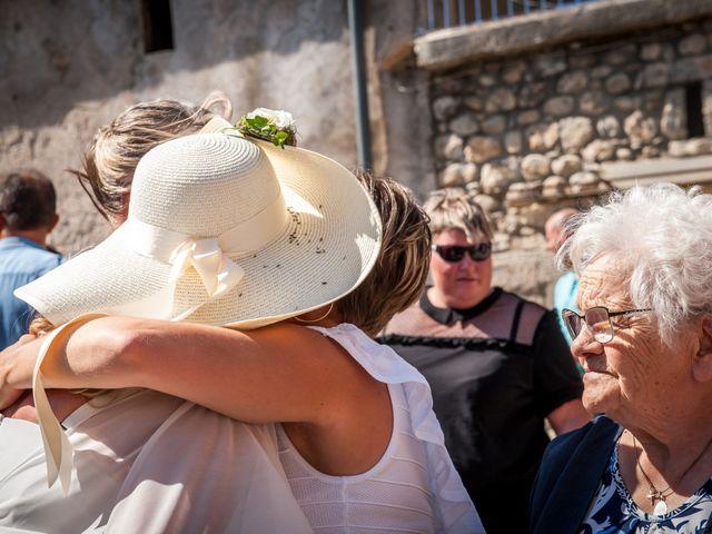 Le mariage de Hervé et Corinne à Labeaume, Ardèche 63