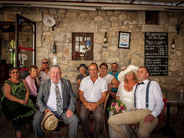 Le mariage de Hervé et Corinne à Labeaume, Ardèche 87