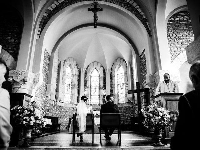 Le mariage de François et Caroline à Arnas, Rhône 33