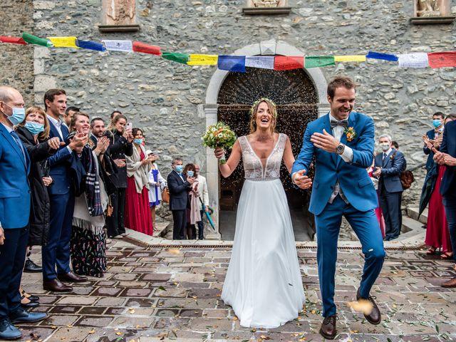 Le mariage de Olivier et Manon à Chamoux-sur-Gelon, Savoie 19