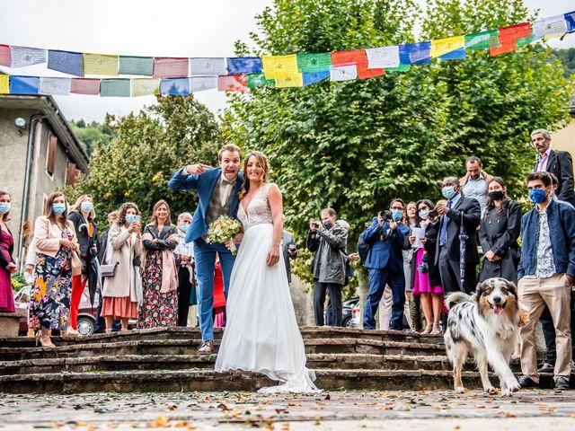 Le mariage de Olivier et Manon à Chamoux-sur-Gelon, Savoie 1