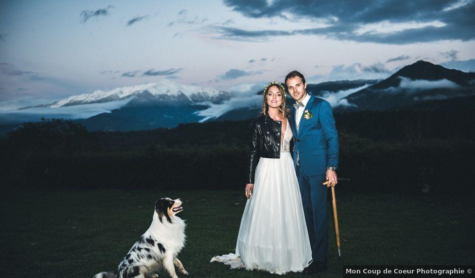 Le mariage de Olivier et Manon à Chamoux-sur-Gelon, Savoie