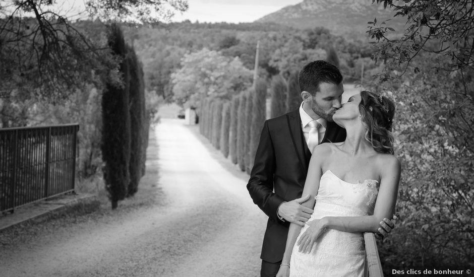 Le mariage de Cédric et Lindsay à Jouques, Bouches-du-Rhône
