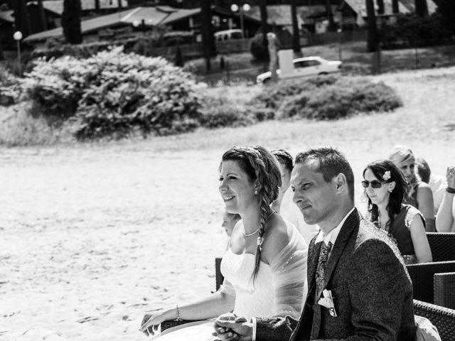 Le mariage de Zacharias et Florence à Biscarrosse, Landes 12