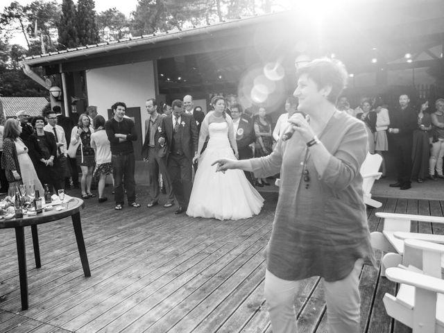 Le mariage de Zacharias et Florence à Biscarrosse, Landes 28