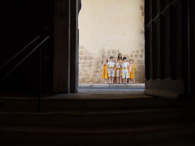 Le mariage de Vincent et Sophie à Oizon, Cher 15
