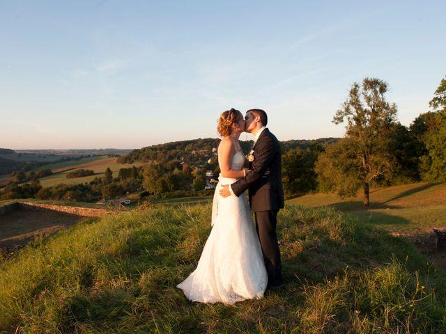 Le mariage de Mathieu et Lucile à Villécloye, Meuse 80