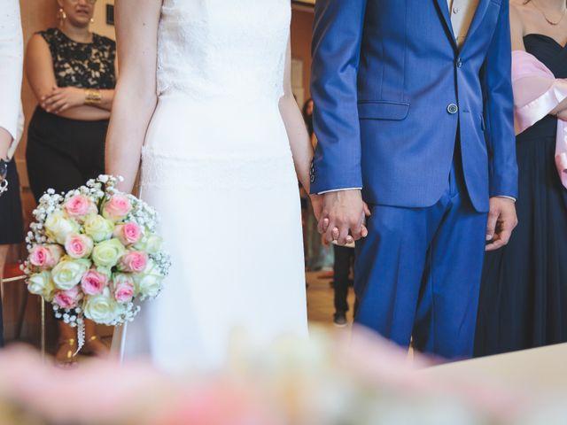 Le mariage de Jeremy et Ophélie à Cosmes, Mayenne 7