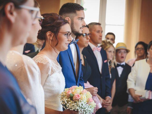 Le mariage de Jeremy et Ophélie à Cosmes, Mayenne 10