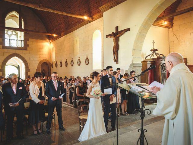 Le mariage de Jeremy et Ophélie à Cosmes, Mayenne 14