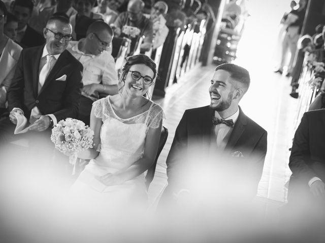 Le mariage de Jeremy et Ophélie à Cosmes, Mayenne 17