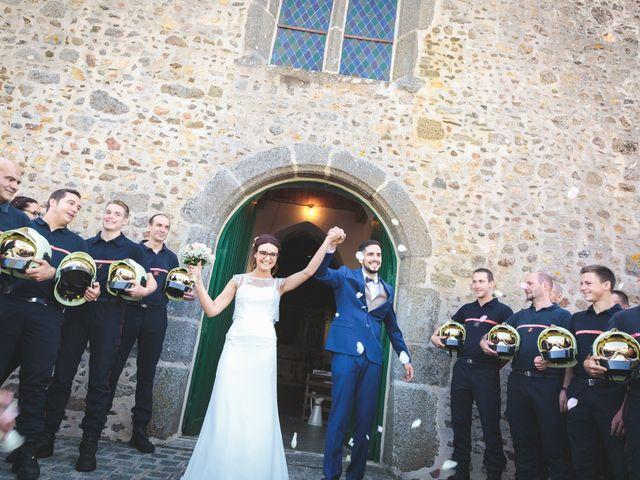 Le mariage de Jeremy et Ophélie à Cosmes, Mayenne 22