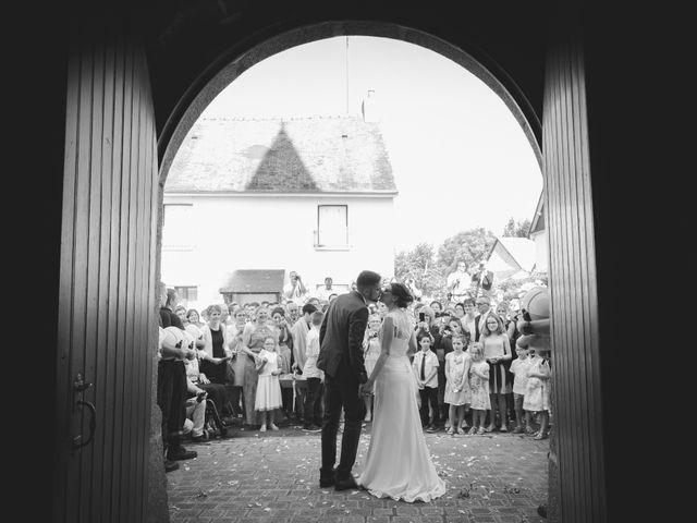 Le mariage de Jeremy et Ophélie à Cosmes, Mayenne 2