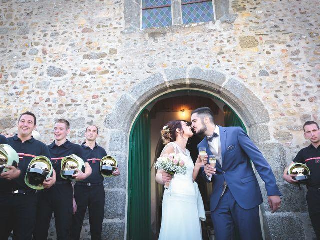 Le mariage de Jeremy et Ophélie à Cosmes, Mayenne 23