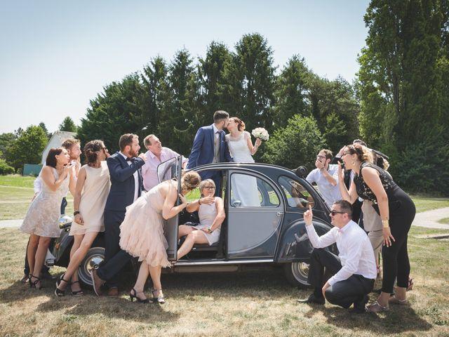 Le mariage de Jeremy et Ophélie à Cosmes, Mayenne 35