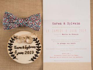 Le mariage de Karen et Sylvain 1